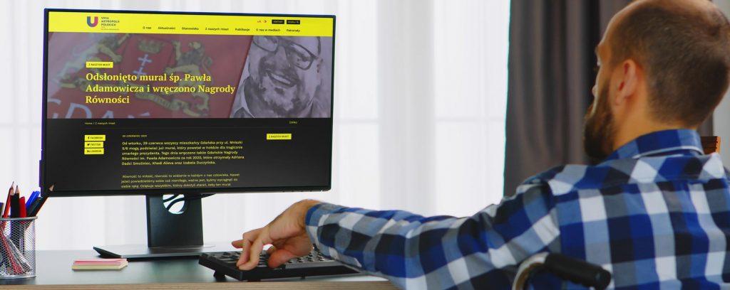WCAG 2.1 – Tworzenie stron internetowych a dostępność cyfrowa