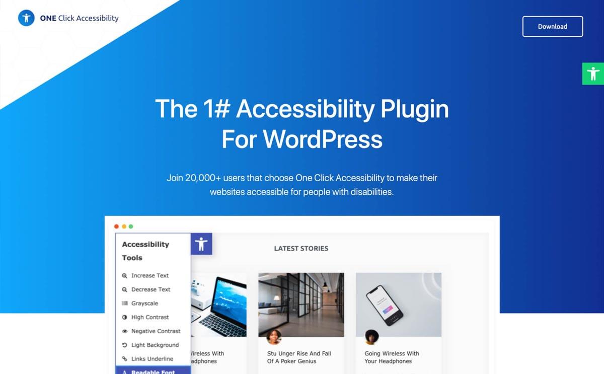 wtyczna WordPress Automated Website Accessibility